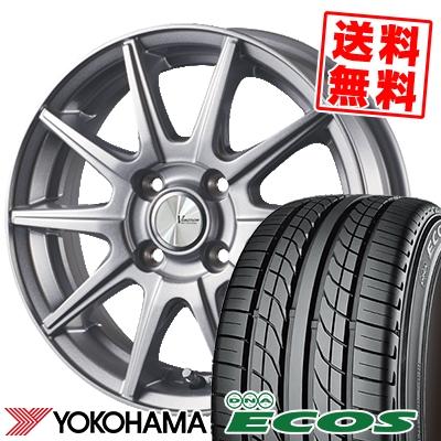 155/55R14 69V YOKOHAMA ヨコハマ DNA ECOS ES300 DNA エコス ES300 V-EMOTION SR10 Vエモーション SR10 サマータイヤホイール4本セット