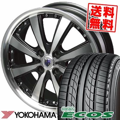 205/45R16 83W YOKOHAMA ヨコハマ DNA ECOS ES300 DNA エコス ES300 STEINER VS-5 シュタイナー VS5 サマータイヤホイール4本セット