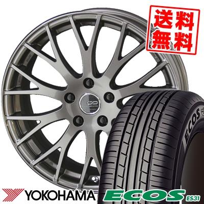 215/45R18 93W XL YOKOHAMA ヨコハマ ECOS ES31 エコス ES31 ENKEI CREATIVE DIRECTION CDM2 エンケイ クリエイティブ ディレクション CD-M2 サマータイヤホイール4本セット