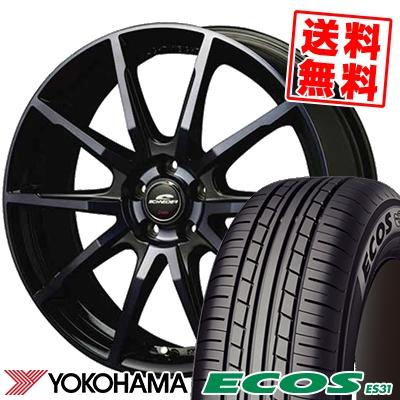 215/45R18 93W XL YOKOHAMA ヨコハマ ECOS ES31 エコス ES31 SCHNEIDER DR-01 シュナイダー DR-01 サマータイヤホイール4本セット