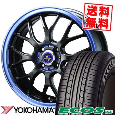 165/60R14 75H YOKOHAMA ヨコハマ ECOS ES31 エコス ES31 EXPLODE-RBM エクスプラウド RBM サマータイヤホイール4本セット