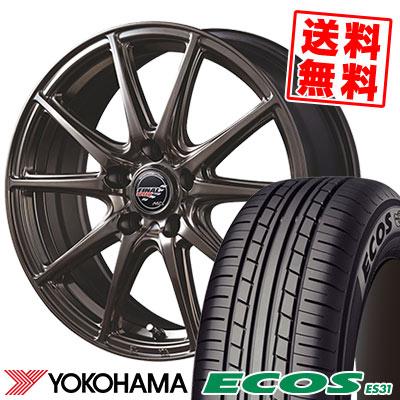 215/45R18 93W XL YOKOHAMA ヨコハマ ECOS ES31 エコス ES31 FINALSPEED GR-Volt ファイナルスピード GRボルト サマータイヤホイール4本セット