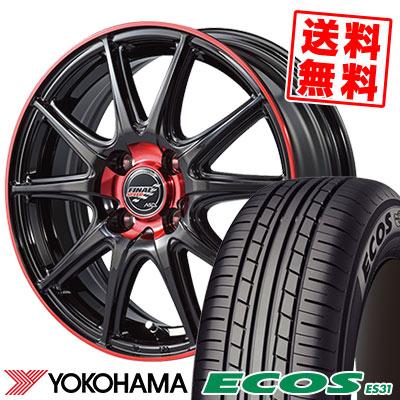 145/65R15 72H YOKOHAMA ヨコハマ ECOS ES31 エコス ES31 FINALSPEED GR-Volt ファイナルスピード GRボルト サマータイヤホイール4本セット