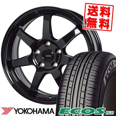 215/65R15 96S YOKOHAMA ヨコハマ ECOS ES31 エコス ES31 G.speed G-03 Gスピード G-03 サマータイヤホイール4本セット