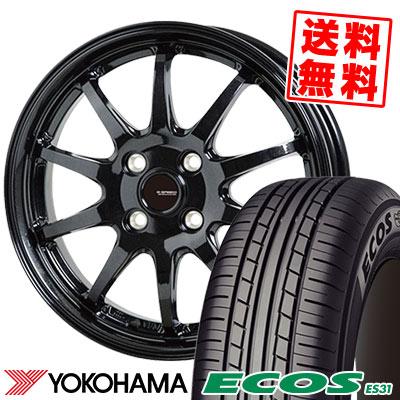 175/55R15 77V YOKOHAMA ヨコハマ ECOS ES31 エコス ES31 G.speed G-04 Gスピード G-04 サマータイヤホイール4本セット