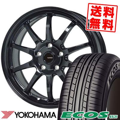 215/65R15 96S YOKOHAMA ヨコハマ ECOS ES31 エコス ES31 G.speed G-04 Gスピード G-04 サマータイヤホイール4本セット