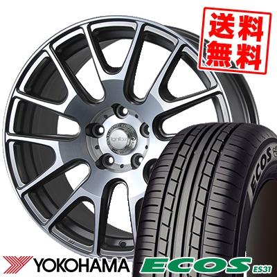215/55R17 94V YOKOHAMA ヨコハマ ECOS ES31 エコス ES31 IGNITE XTRACK イグナイト エクストラック サマータイヤホイール4本セット
