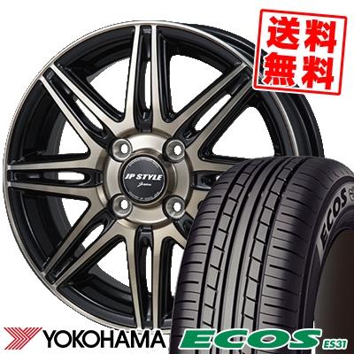 165/65R13 77S YOKOHAMA ヨコハマ ECOS ES31 エコス ES31 JP STYLE JERIVA JPスタイル ジェリバ サマータイヤホイール4本セット