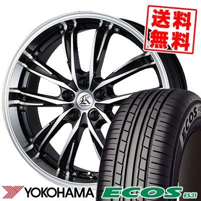 205/50R17 89V YOKOHAMA ヨコハマ ECOS ES31 エコス ES31 Kashina XV5 カシーナ XV5 サマータイヤホイール4本セット