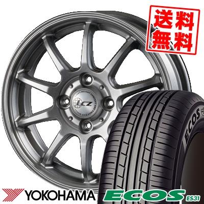 165/50R15 73V YOKOHAMA ヨコハマ ECOS ES31 エコス ES31 LCZ010 LCZ010 サマータイヤホイール4本セット