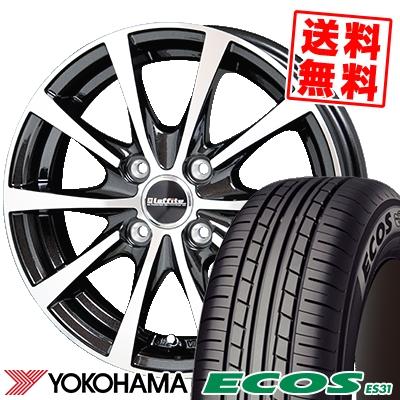 175/60R16 82H YOKOHAMA ヨコハマ ECOS ES31 エコス ES31 Laffite LE-03 ラフィット LE-03 サマータイヤホイール4本セット