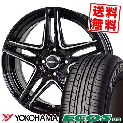 185/65R15 88S YOKOHAMA ヨコハマ ECOS ES31 エコス ES31 Laffite LW-04 ラフィット LW-04 サマータイヤホイール4本セット