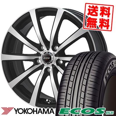 215/45R17 91W XL YOKOHAMA ヨコハマ ECOS ES31 エコス ES31 JP STYLE MBS JPスタイル MBS サマータイヤホイール4本セット