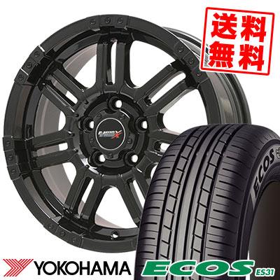 215/60R16 95H YOKOHAMA ヨコハマ ECOS ES31 エコス ES31 B-MUD X Bマッド エックス サマータイヤホイール4本セット