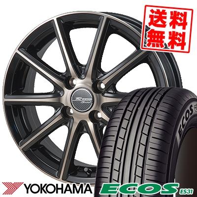 175/60R16 82H YOKOHAMA ヨコハマ ECOS ES31 エコス ES31 MONZA R VERSION Sprint モンツァ Rヴァージョン スプリント サマータイヤホイール4本セット