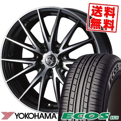 225/45R18 95W XL YOKOHAMA ヨコハマ ECOS ES31 エコス ES31 WEDS RIZLEY VS ウェッズ ライツレー VS サマータイヤホイール4本セット