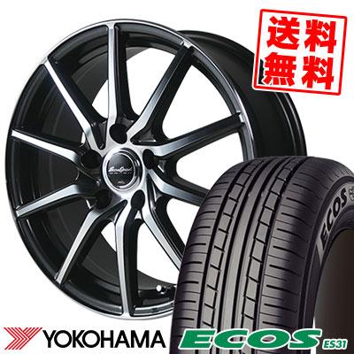 205/60R16 92H YOKOHAMA ヨコハマ ECOS ES31 エコス ES31 EuroSpeed S810 ユーロスピード S810 サマータイヤホイール4本セット