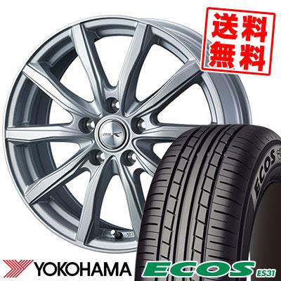 215/65R15 96S YOKOHAMA ヨコハマ ECOS ES31 エコス ES31 JOKER SHAKE ジョーカー シェイク サマータイヤホイール4本セット