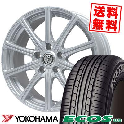 225/45R18 95W XL YOKOHAMA ヨコハマ ECOS ES31 エコス ES31 TRG-SS10 TRG SS10 サマータイヤホイール4本セット