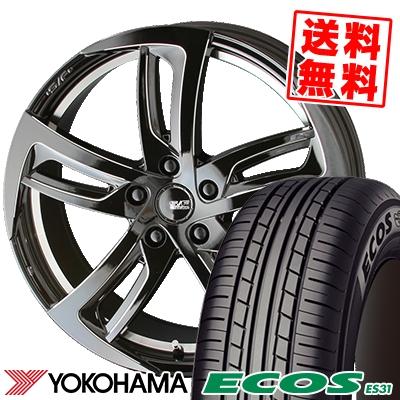 205/50R17 89V YOKOHAMA ヨコハマ ECOS ES31 エコス ES31 STEINER SF-C シュタイナー SF-C サマータイヤホイール4本セット