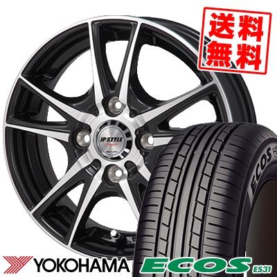 195/55R16 87V YOKOHAMA ヨコハマ ECOS ES31 エコス ES31 JP STYLE Vogel JPスタイル ヴォーゲル サマータイヤホイール4本セット