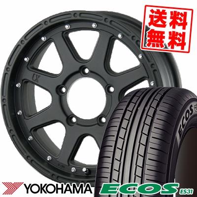 215/55R17 94V YOKOHAMA ヨコハマ ECOS ES31 エコス ES31 XTREME-J エクストリームJ サマータイヤホイール4本セット