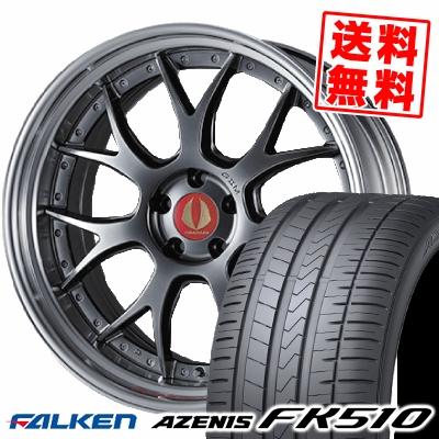 255/30R21 93Y XL FALKEN ファルケン AZENIS FK510 アゼニス FK510 AIMGAIN G2M エイムゲイン G2M サマータイヤホイール4本セット