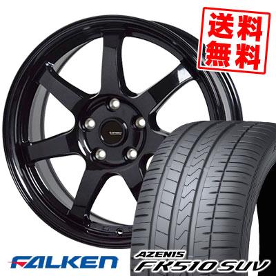 235/60R18 107W XL FALKEN ファルケン AZENIS FK510 SUV アゼニス FK510 SUV G.speed G-03 Gスピード G-03 サマータイヤホイール4本セット