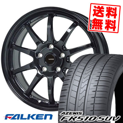 235/50R18 101Y XL FALKEN ファルケン AZENIS FK510 SUV アゼニス FK510 SUV G.speed G-04 Gスピード G-04 サマータイヤホイール4本セット