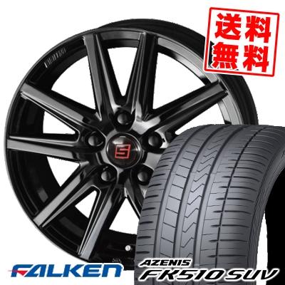 235/50R18 101Y XL FALKEN ファルケン AZENIS FK510 SUV アゼニス FK510 SUV SEIN SS BLACK EDITION ザイン エスエス ブラックエディション サマータイヤホイール4本セット