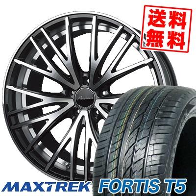 245/35R20 95Y XL MAXTREK マックストレック FORTIS T5 フォルティス ティーファイブ Precious AST M1 プレシャス アスト M1 サマータイヤホイール4本セット