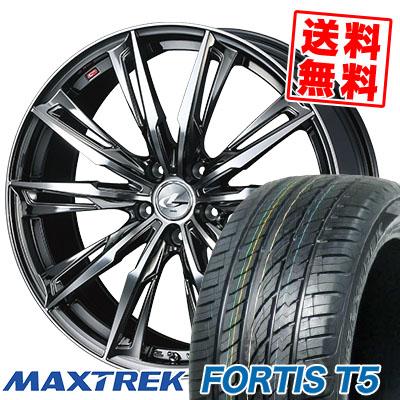 高級品市場 245/35R20 95Y XL サマータイヤホイール4本セット レオニス WEDS MAXTREK マックストレック FORTIS T5 フォルティス ティーファイブ WEDS LEONIS GX ウェッズ レオニス GX サマータイヤホイール4本セット, キタカタチョウ:a3b0d7ab --- kventurepartners.sakura.ne.jp