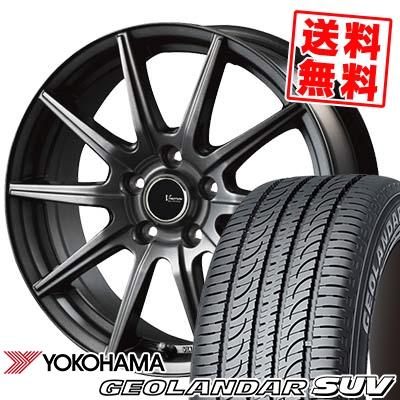 215/60R16 95V YOKOHAMA ヨコハマ GEOLANDAR SUV G055 ジオランダーSUV G055 V-EMOTION GS10 Vエモーション GS10 サマータイヤホイール4本セット