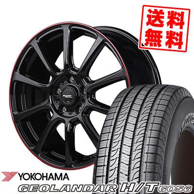 245/70R16 111H YOKOHAMA ヨコハマ GEOLANDAR H/T G056 ジオランダーH/T G056 Rapid Performance ZX10 ラピッド パフォーマンス ZX10 サマータイヤホイール4本セット