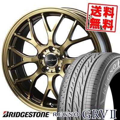 レグノ 205/55R17 BRIDGESTONE GRV-2 Eouro Sport Type 805 ユーロスポーツ ブリヂストン サマータイヤホイール4本セット REGNO GRV2 タイプ805