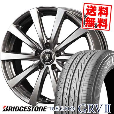 245/45R18 100W XL BRIDGESTONE ブリヂストン REGNO GRV2 レグノ GRV-2 Euro Speed G10 ユーロスピード G10 サマータイヤホイール4本セット