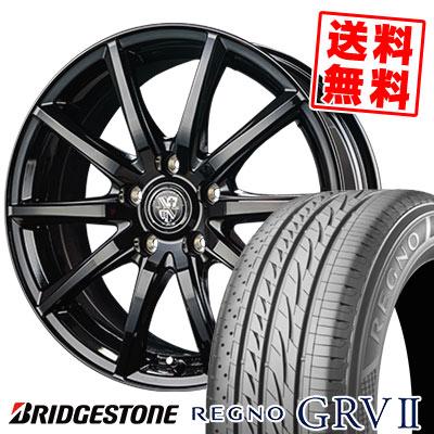 205/65R15 94H BRIDGESTONE ブリヂストン REGNO GRV2 レグノ GRV-2 TRG-GB10 TRG GB10 サマータイヤホイール4本セット