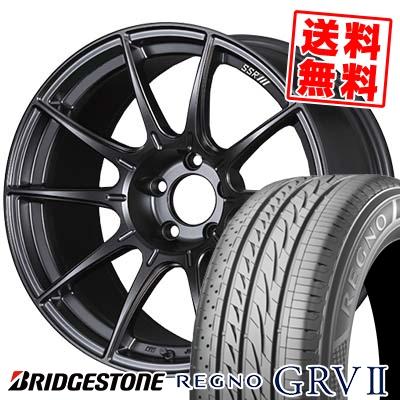 245/40R19 BRIDGESTONE ブリヂストン REGNO GRV2 レグノ GRV-2 SSR GT X01 SSR GT X01 サマータイヤホイール4本セット