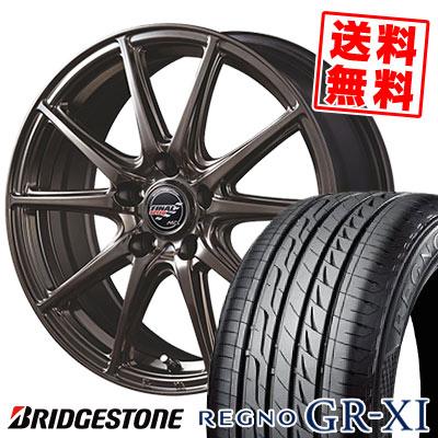 245/40R18 93W BRIDGESTONE ブリヂストン REGNO GR-XI レグノ GR クロスアイ FINALSPEED GR-Volt ファイナルスピード GRボルト サマータイヤホイール4本セット