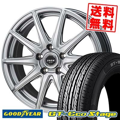 215/50R17 91V Goodyear グッドイヤー GT-Eco Stage ジーティー エコステージ ZACK JP-710 ザック ジェイピー710 サマータイヤホイール4本セット