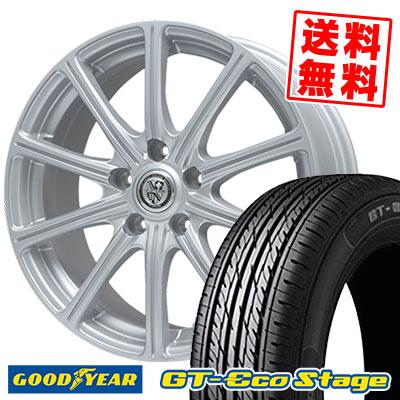 215/45R17 87W Goodyear グッドイヤー GT-Eco Stage ジーティー エコステージ TRG-SS10 TRG SS10 サマータイヤホイール4本セット