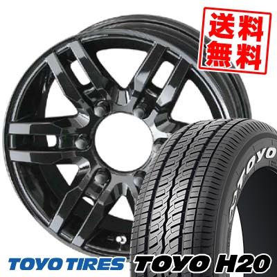 195/80R15 TOYO TIRES トーヨー タイヤ H20 H20 PPX PR-06 PPX PR-06 サマータイヤホイール4本セット