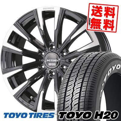 215/65R16 TOYO TIRES トーヨー タイヤ H20 H20 MAD CROSS BREAKER XS6 マッドクロス ブレイカー XS6 サマータイヤホイール4本セット for 200系ハイエース
