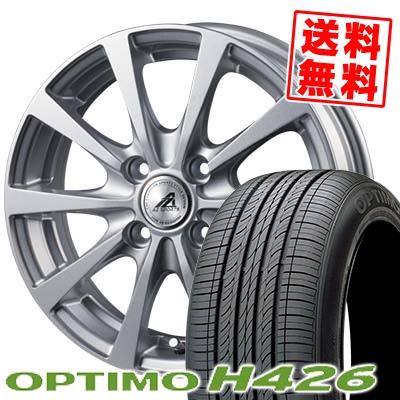175/60R15 85H XL HANKOOK ハンコック OPTIMO H426 オプティモ H426 AZ SPORTS EX10 AZスポーツ EX10 サマータイヤホイール4本セット
