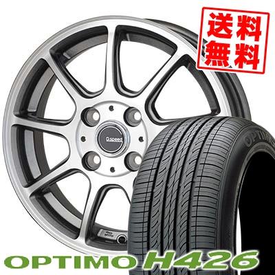 175/60R14 HANKOOK ハンコック OPTIMO H426 オプティモ H426 G.Speed P-01 Gスピード P-01 サマータイヤホイール4本セット