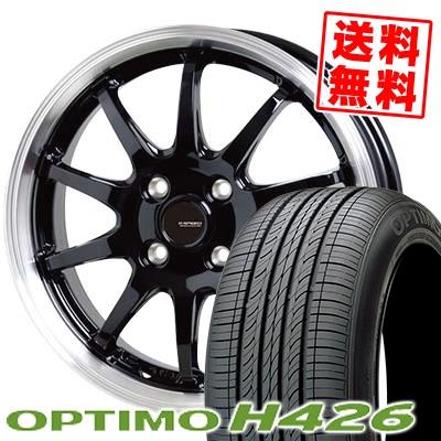 185/65R14 86H HANKOOK ハンコック OPTIMO H426 オプティモ H426 G.speed P-04 ジースピード P-04 サマータイヤホイール4本セット