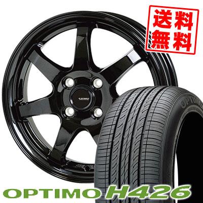 165/70R14 85T XL HANKOOK ハンコック OPTIMO H426 オプティモ H426 G.speed G-03 Gスピード G-03 サマータイヤホイール4本セット