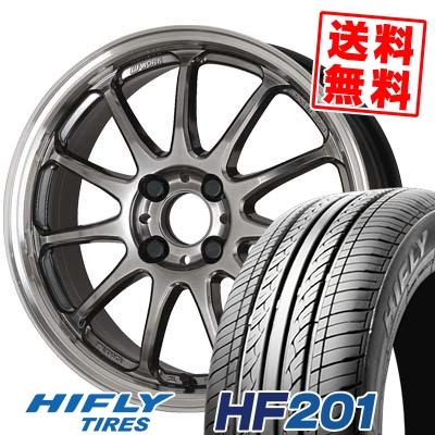 145/65R15 72T HIFLY ハイフライ HF201 HF201 WORK EMOTION 11R ワーク エモーション 11R サマータイヤホイール4本セット