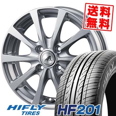165/70R14 81T HIFLY ハイフライ HF201 エイチエフ ニイマルイチ AZ SPORTS EX10 AZスポーツ EX10 サマータイヤホイール4本セット
