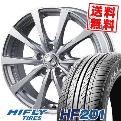 205/60R16 92V HIFLY ハイフライ HF201 エイチエフ ニイマルイチ AZ SPORTS EX10 AZスポーツ EX10 サマータイヤホイール4本セット【取付対象】